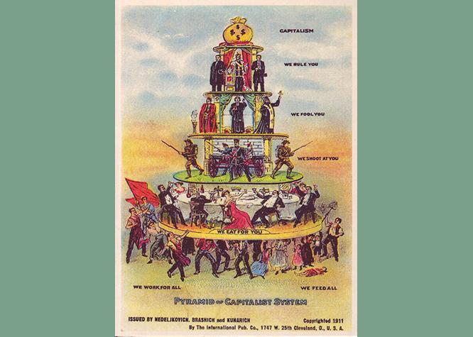 Illustration of the Capitalist Pyramid