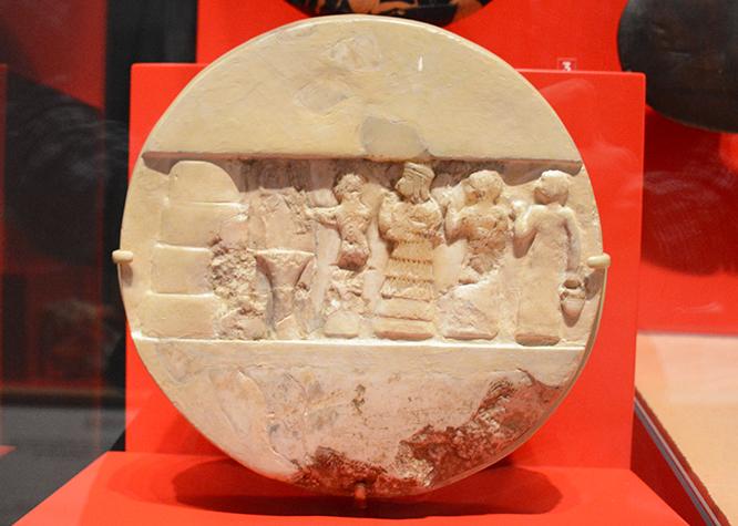 The carved disc of Enheduanna